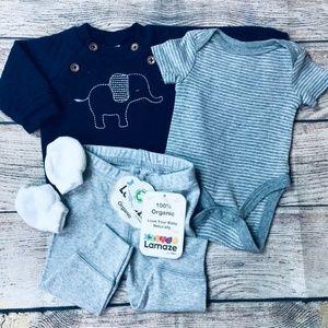 Baby Boy Newborn Elephant Bundle